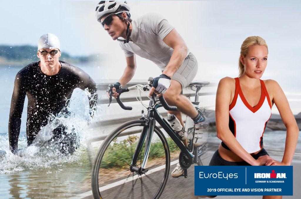 Euroeyes: официальный офтальмологический партнер соревнований по триатлону Ironman